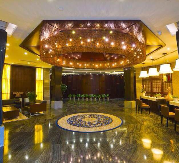 杭州陇林酒店使用美尔家藤编灯