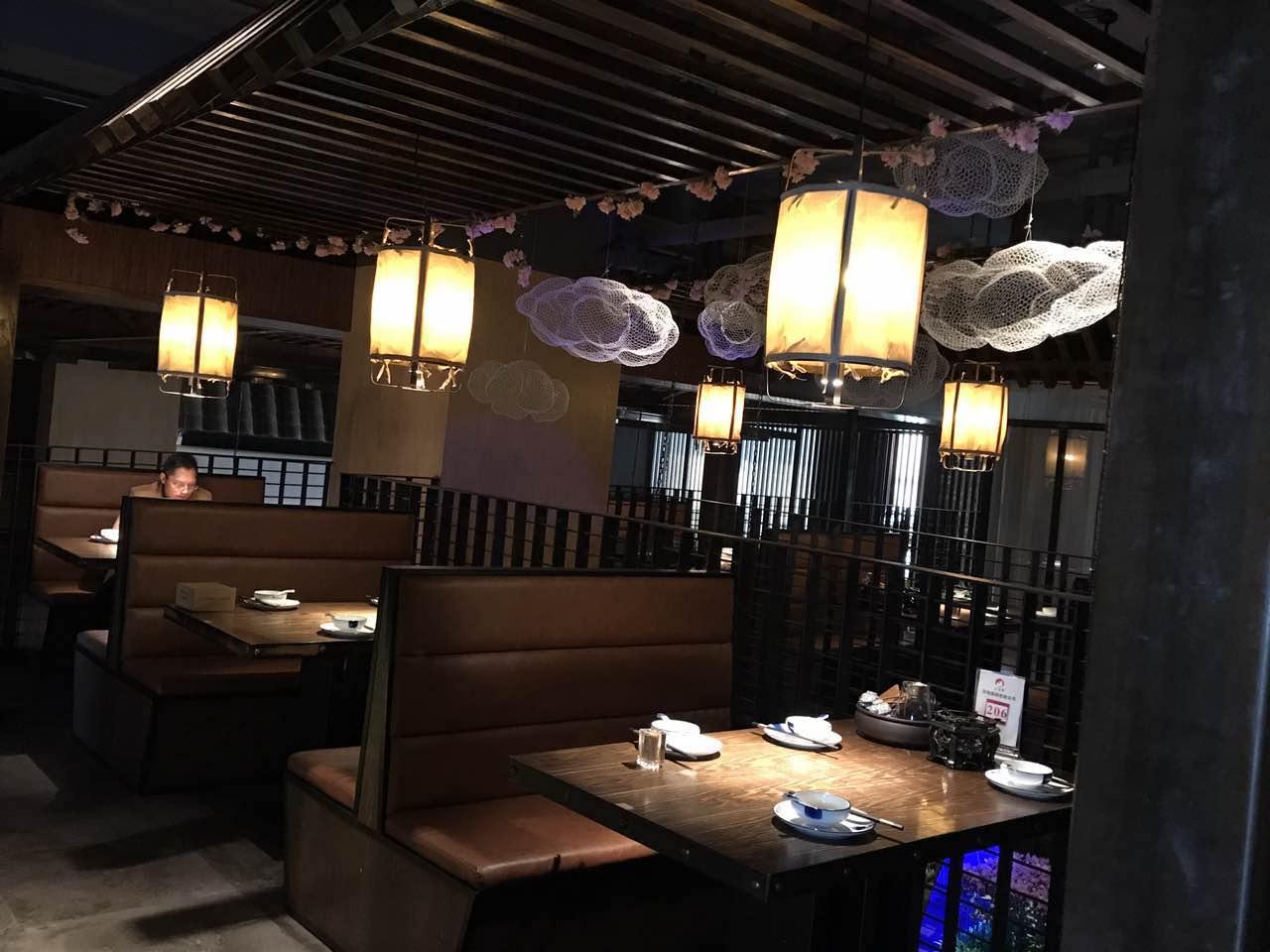 餐厅灯光与环境空间的关系