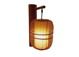 MEJ-9087竹艺壁灯