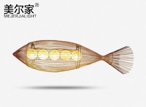 NEH-9082竹艺鱼吊灯