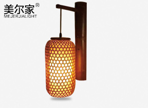 MEJ-8050竹编壁灯