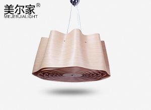 MEJ-6633木皮吊灯