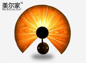 MEJ-6630木皮吊灯