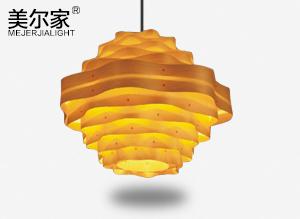 MEJ-6611木皮吊灯