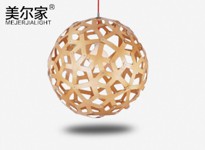 MEJ-6628木艺吊灯