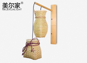 MEJ8147竹艺壁灯