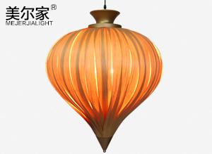 MEJ-6637 木皮吊灯